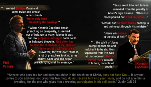 Another Jesus, A Different Spirit, A Different Gospel 2Cor 11:4