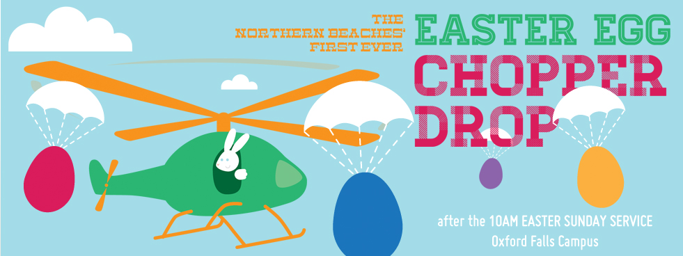eastereggdrop chopper drop c3 church watch