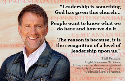 Pringle Leadership Scandals
