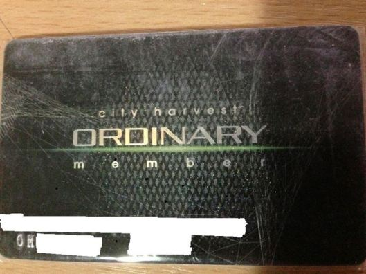 chc ordinary member card
