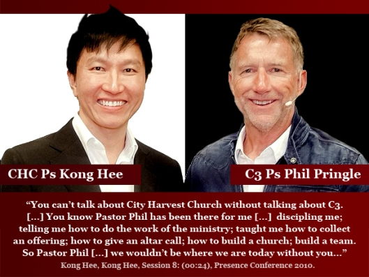 Kong Hee copies Phil Pringle