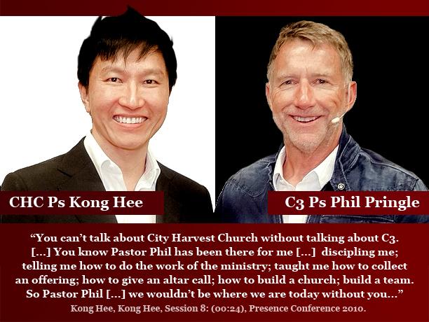 Kong Hee copies Phil Pringle