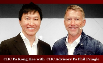 Ps Kong Hee and Ps Phil Pringle