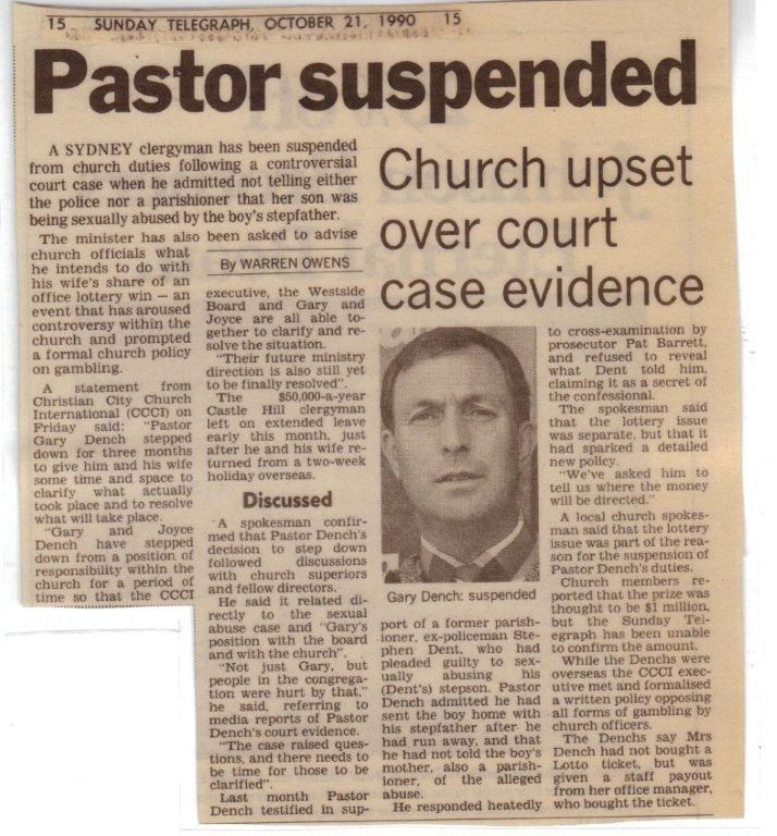 C3 Parramatta Scandal - Article 21-10-1990