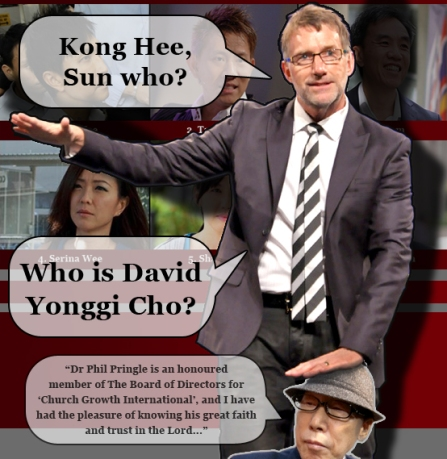 Phil Pringle CHC Kong Hee Cover up